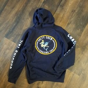 Salty crew graphic hooded sweatshirt